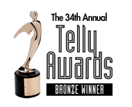 the 34th annual telly awards bronze winner